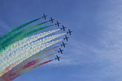 Air Force team, Italy Stock Photo