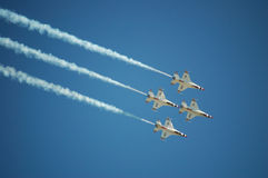 Air Force Thunderbirds Stock Images