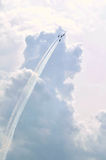 Air Force Thunderbirds Air Show - Four Planes Stock Image