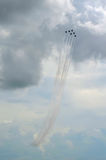 Air Force Thunderbirds Formation Royalty Free Stock Image