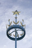Air forces memorial astral crown. The astral crown mounted on top of the air forces memorial in Runnymede Royalty Free Stock Photography