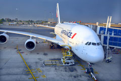 Air France A380 Photographie stock libre de droits