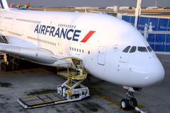 Air France A380 Images stock