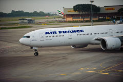Air France 777-300 Royalty Free Stock Photo