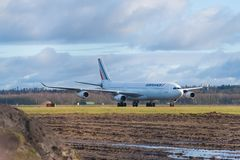 Air France Airbus Foto de Stock Royalty Free