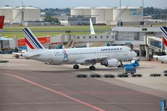 Air France Airbus Fotografia de Stock