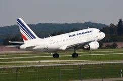 Air France Airbus 318 lizenzfreie stockbilder