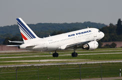 Air France Airbus 318 Imagens de Stock Royalty Free