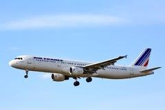 Air France Airbus A321 Images libres de droits