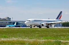 Air France Airbus A319 Immagini Stock