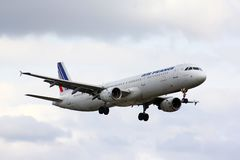 Air France Airbus A321 Image libre de droits
