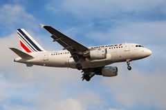 Air France Airbus A318 Foto de Stock