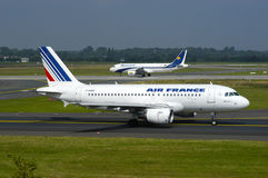 Air France Airbus A319 Foto de Stock Royalty Free
