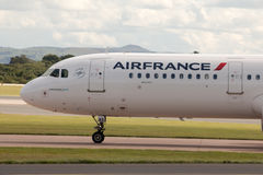 Air France Airbus A321 Fotografia de Stock Royalty Free
