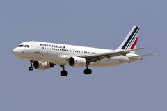 Air France Airbus A320 Imagem de Stock Royalty Free