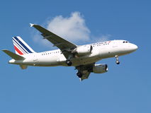Air France Airbus A319-111 aircraft Stock Images
