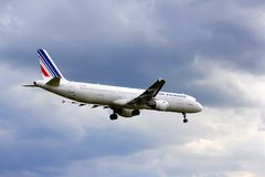 Air France Airbus A321 Stock Photography