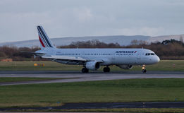 Air France Airbus 320 Royalty Free Stock Photos