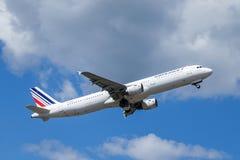 Air France, Airbus A321 - 200 sacan fotos de archivo libres de regalías