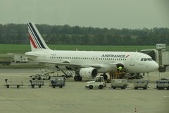 Air France airplane Royalty Free Stock Image