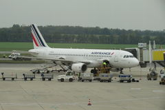 Air France airplane Stock Photography
