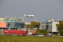 Air France aplana Foto de Stock