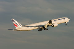 Air France Boeing 777 Aircraft Stock Photos