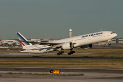 Air France Boeing 777 Aircraft Royalty Free Stock Photo