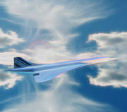 Air France Concorde Image stock