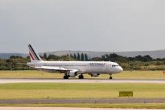 Air France flygbuss A321 Royaltyfri Bild