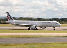 Air France flygbuss A321 Royaltyfri Fotografi