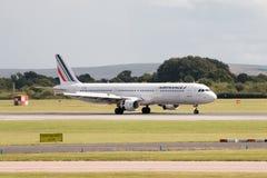 Air France flygbuss A321 Arkivfoto