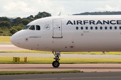 Air France flygbuss A321 Royaltyfria Foton