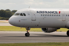 Air France flygbuss A321 Royaltyfri Foto