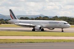 Air France flygbuss A321 Arkivfoton