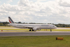 Air France flygbuss A321 Royaltyfri Bild