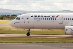Air France flygbuss A321 Royaltyfri Foto