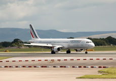 Air France flygbuss A321 Royaltyfri Fotografi