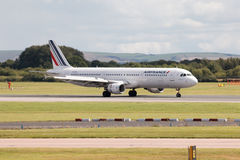 Air France flygbuss A321 Arkivbilder