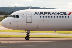 Air France flygbuss A321 Arkivbild