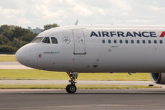 Air France flygbuss A321 Arkivfoton