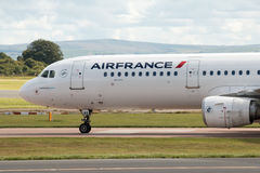 Air France flygbuss A321 Arkivfoto