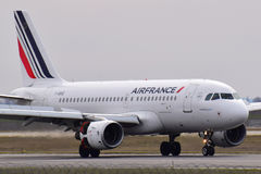 Air France flygbuss A319 Royaltyfri Bild