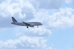 Air France flygbuss A319-100 F-GRXJ Royaltyfri Bild