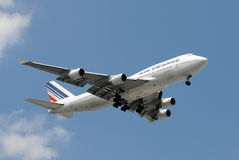 Air France jumbo jet Stock Image