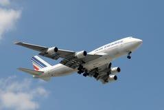 Air France jumbo jet Stock Image