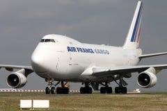 Air France last Arkivbild