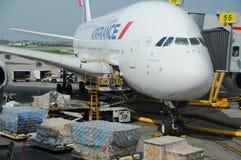 Air France A380 Royalty Free Stock Photos