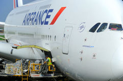 Air France A380 Royalty Free Stock Images