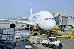 Air France A380 Stock Photos